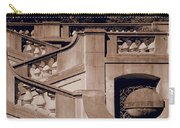 Outdoor Estate Stairway In Sepia Carry-all Pouch