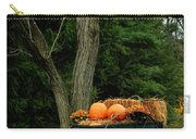 Outdoor Fall Halloween Decorations Carry-all Pouch