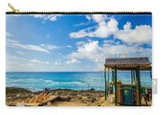 Outdoor Tropical Bar And Souvenirs Carry-all Pouch