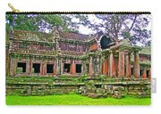 Outer Building Of Angkor Wat In Angkor Wat Archeological Park Near Siem Reap-cambodia  Carry-all Pouch