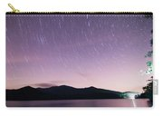 Outer Space Over Lake Santeetlah In Great Smoky Mountains In Sum Carry-all Pouch