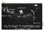 Outlaws With Toy Caldwell 1975 Carry-all Pouch