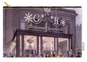 Outside The Theatre Royal, Drury Lane Carry-all Pouch