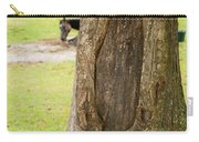 Oval Tree Art Carry-all Pouch