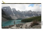 Moraine Lake Lookout - Lake Louise, Alberta Carry-all Pouch