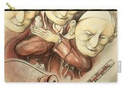 Over-pope-ulation - Cartoon Art Carry-all Pouch