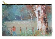 Over The Fence By Jan Matson Carry-all Pouch