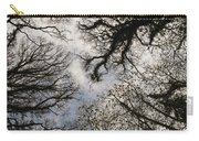 Overhead Trees In Exmoor, United Kingdom Carry-all Pouch