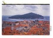 Overlooking Dubrovnik Carry-all Pouch