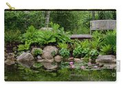 Overlooking The Lily Pond Carry-all Pouch