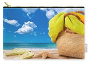 Overlooking The Ocean Carry-all Pouch by Amanda Elwell