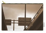 Overpass In Sepia Carry-all Pouch