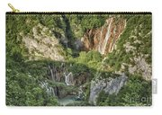 Overview Of Plitvice Carry-all Pouch