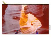 Overwhelmed In Lower Antelope Canyon-az Carry-all Pouch