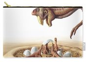 Oviraptor And Nest Carry-all Pouch