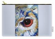 Owl Gaze Carry-all Pouch