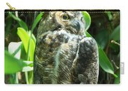 Owl Portrait 2 Carry-all Pouch