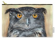 Owl Series - Owl 1 Carry-all Pouch