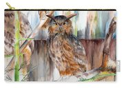 Owl Series - Owl 2 Carry-all Pouch