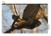 Owl Take Off Carry-all Pouch