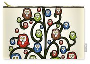 Owl Tree Carry-all Pouch