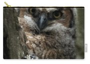 Owlet On The Watch Carry-all Pouch