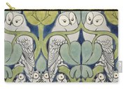 Owls, 1913 Carry-all Pouch