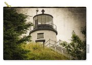 Owls Head Lighthouse Carry-all Pouch