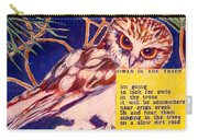 Owls In The Trees Carry-all Pouch