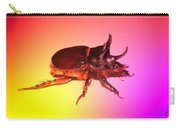 Ox Beetle In Color Carry-all Pouch