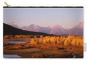 Oxbow Bend Grand Teton National Park Wy Carry-all Pouch