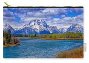 Oxbow Bend In Spring Carry-all Pouch