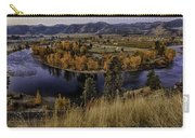 Oxbow Bend In The Wenatchee River Carry-all Pouch