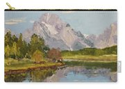 Oxbow View Mt. Moran Carry-all Pouch
