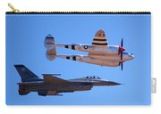 P-38 And Jet Carry-all Pouch