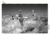 P-51 Mustangs Black And White Version Carry-all Pouch
