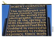 Pa-134 Robert Cornelius Carry-all Pouch