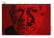 Pablo Red Carry-all Pouch