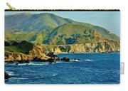 Pacific Coast Panorama Carry-all Pouch by Benjamin Yeager