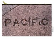 Pacific Concrete Street Sign Carry-all Pouch