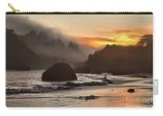 Pacific Fog And Fire Carry-all Pouch by Adam Jewell