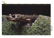 Pacific Giant Salamander On Mossy Rock Carry-all Pouch