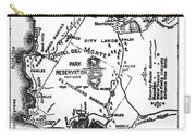 Pacific Grove And Vicinity  Monterey Peninsula California  Circa 1880 Carry-all Pouch