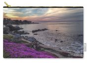 Sunset In Pacific Grove Carry-all Pouch