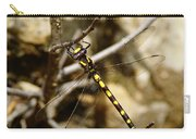 Pacific Spiketail Dragonfly On Mt Tamalpais Carry-all Pouch