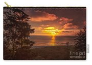 Pacific Sunset Carry-all Pouch by Robert Bales