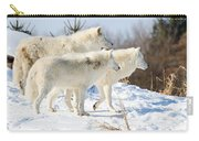 Pack Of Arctic Wolves Carry-all Pouch