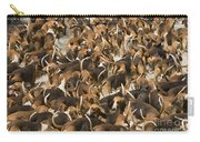 Pack Of Hound Dogs Carry-all Pouch