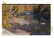 Packard Hill Bridge Lebanon New Hampshire Carry-all Pouch by Edward Fielding