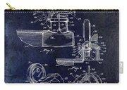 Packard Hood Ornament Blue Carry-all Pouch